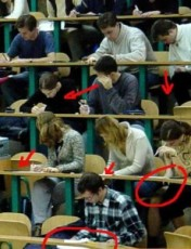 cheating students