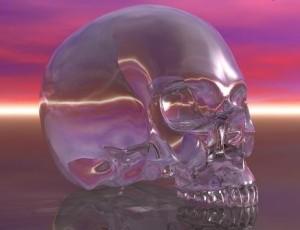 mayan crystal skull