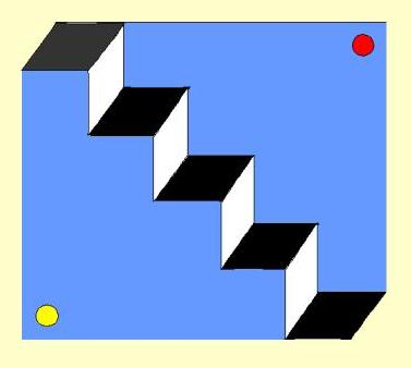optical illusion illusions stairs magic mind eye cool impressive op upside down tricks door turn learning staircase faces visual simple